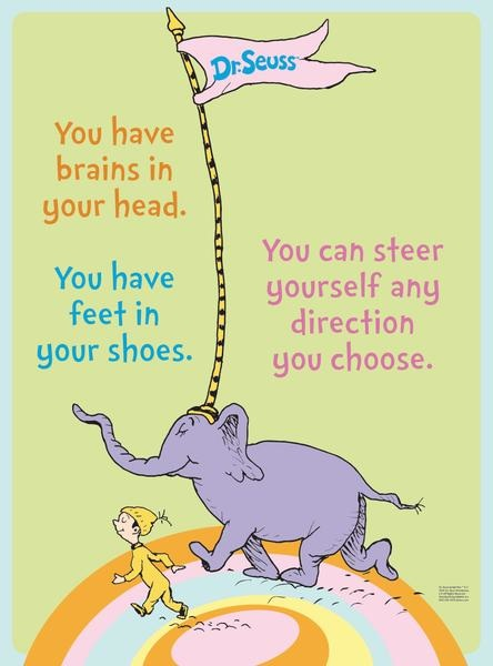 why dr seuss was a genius how oh the places you ll go is really