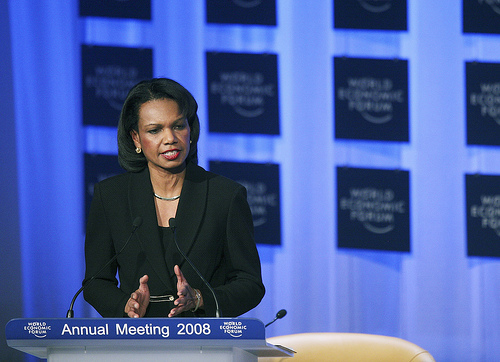 You could be a politician like Condoleezza