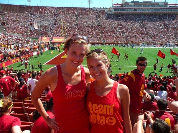Trojan college football fans