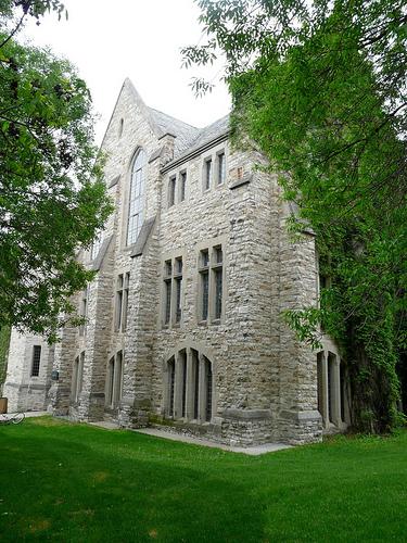 College campus visit